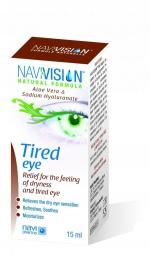 капли для уставших глаз NAVIVISION  15мл