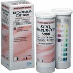 Тест-полосы для экспресс диагностики в моче глюкозы/кетоновых тел